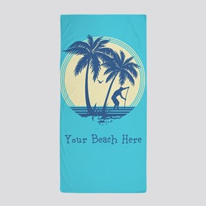 Personalize Beach Towel